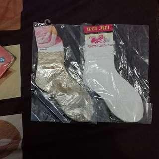 Lace socks/ kaoskaki brukat