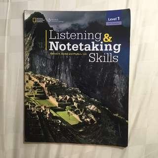 Listening&Notetaking skills