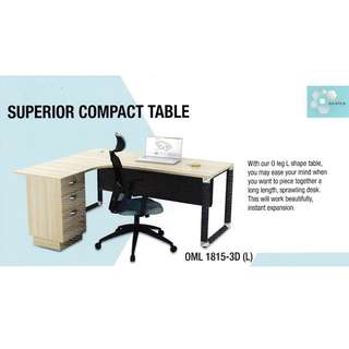 Superior Compact Table OML 1815-3D (L)