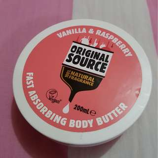 ORIGINAL SOURCE BODY BUTTER