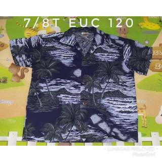 7/8t hawaiin polo