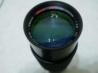 復古老鏡頭 Albinar ADG 80-200mm f/3.9 復古鏡