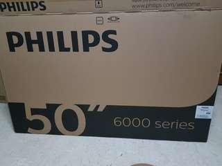 "Philips 50"" 4k Smart Tv 50PUT6002 Led"