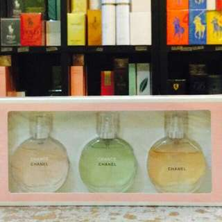 Chanel Perfume Set Collection