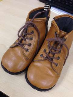 Leather Boot for Kids - Boy