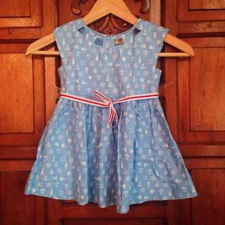 Like Brand New Alli & Ella Blue Baby Girl Dress