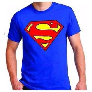 NEW!! SUPERMAN 100% COTTO TSHIRTS (UNISEX)