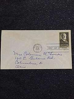 US 1962 Charles Evans Hughes FDC Stamp
