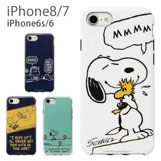 SNOOPY PEANUTS  iPhone8/7/6s/6 Soft Case $248/1