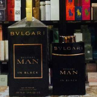 Bvlgari Man In Black & Extreme Collection
