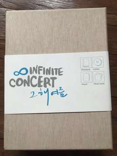 *NEGOTIABLE* INFINITE - THAT SUMMER CONCERT (FREEBIES - UNOFFICIAL POSTER SETS AND POSTCARDS)