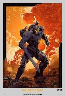 《悍戰太平洋2:起義時空》IMAX海報!👍