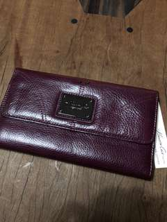 Kenneth Cole New York Wallet (Plum Color)