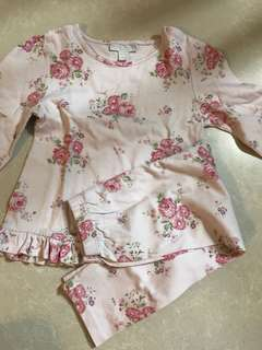 The little white company pjs 18-24 Months