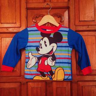 Disney Baby Boy Blue Longsleeves