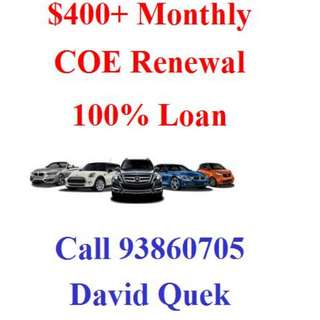 COE Renewal Full Loan