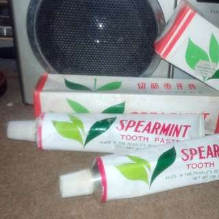 vintage toothpaste(new old stock)