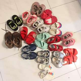 Bundle: Shoes for 1-2years old girls