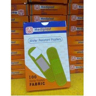 Mediplast Water Resistant PLaster 100's