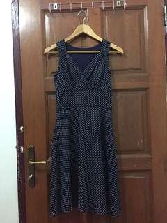 Preloved polkadot dress