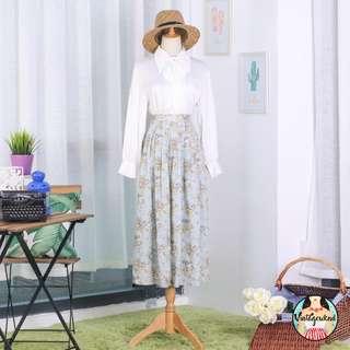 🍿 Vintage Midi Skirt VS1342
