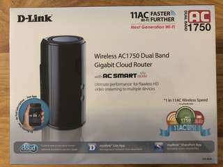 D-Link Wireless AC1750 Dual Band Gigabit Could Router