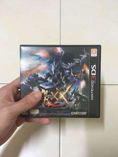 Used Monster Hunter XX JPN Version