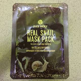 Real Snail Mask Pack