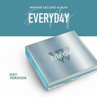 WINNER 2ND Album [EVERYD4Y] pre-order