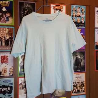 Bossini Sky Blue Plain Shirt