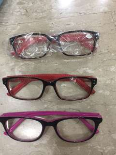 Reading glasses +2.50 spectacles