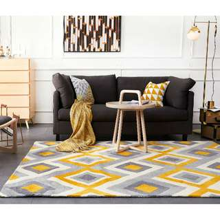 Carpet | Contemporary 3D Nordic Area Rug