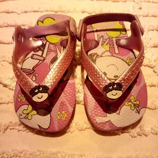 """""""Havaianas"""" Baby Slippers"""