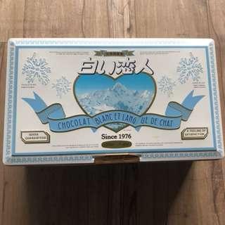 白色戀人-只賣鐵盒