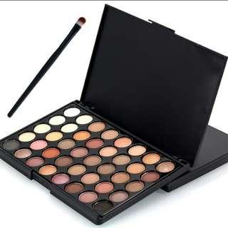Eyeshadow Popfeel 40 Colour Matte