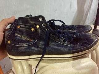 Diesel denim shoes