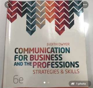 Communication for business and professions