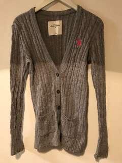 🚚 🎀A&F大童款超級舒服材質毛料小外套😍