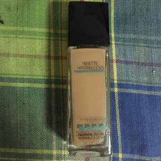 Maybelline Fit Me Foundation shade 322