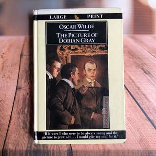[RARE BOOK] Large Print - The Picture of Dorian Gray - Oscar Wilde - Preloved