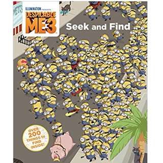 @(Brand New) Despicable Me 3 : Seek and Find   By: Fractured Pixels - Hardcover