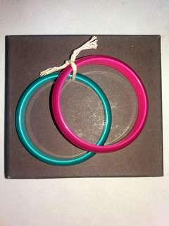 Beagle Bracelets Pink n Green