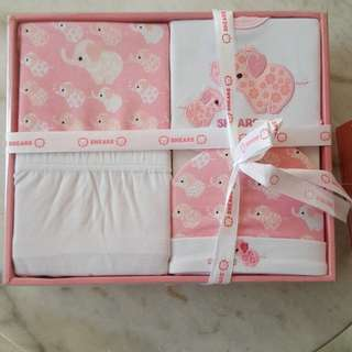 Shears Newborn Baby Girl Gift Set