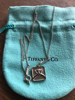 Authentic Tiffany & Co diamond Lexicon necklace