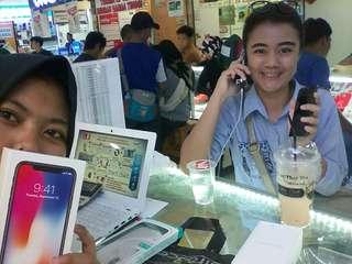Iphone X 64 Gb,resmi inter.bs cicilan tanppa cc,hnya 3mbt gaesd