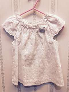Mothercare Lace-print Top