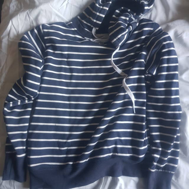 2 x stripey hoodies - country road & factorie