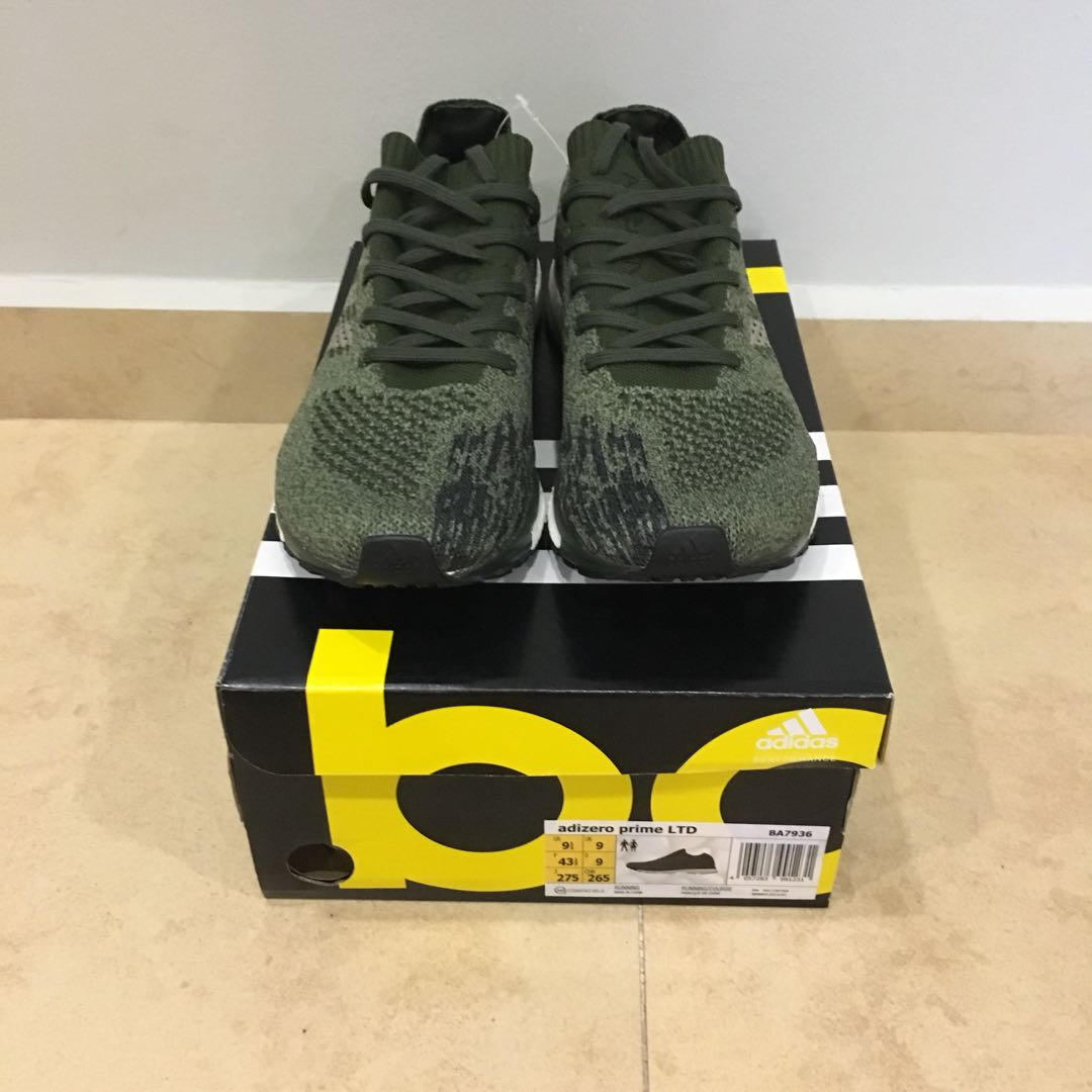 newest collection 31645 b5e71 Adidas Adizero Prime LTD Trace Cargo Olive, Mens Fashion, Footwear,  Sneakers on Carousell