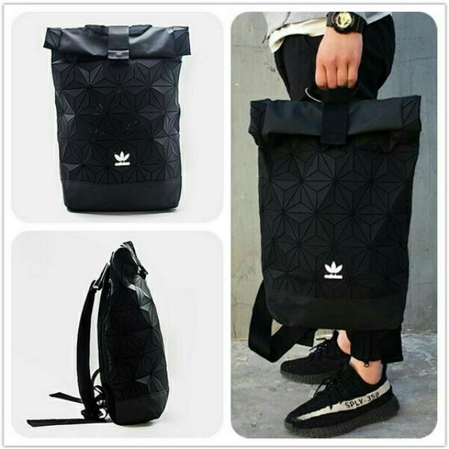 a10966f9cd Adidas backpack bag 3D black New Limited edition RM150, Men's Fashion, Bags  & Wallets, Backpacks on Carousell