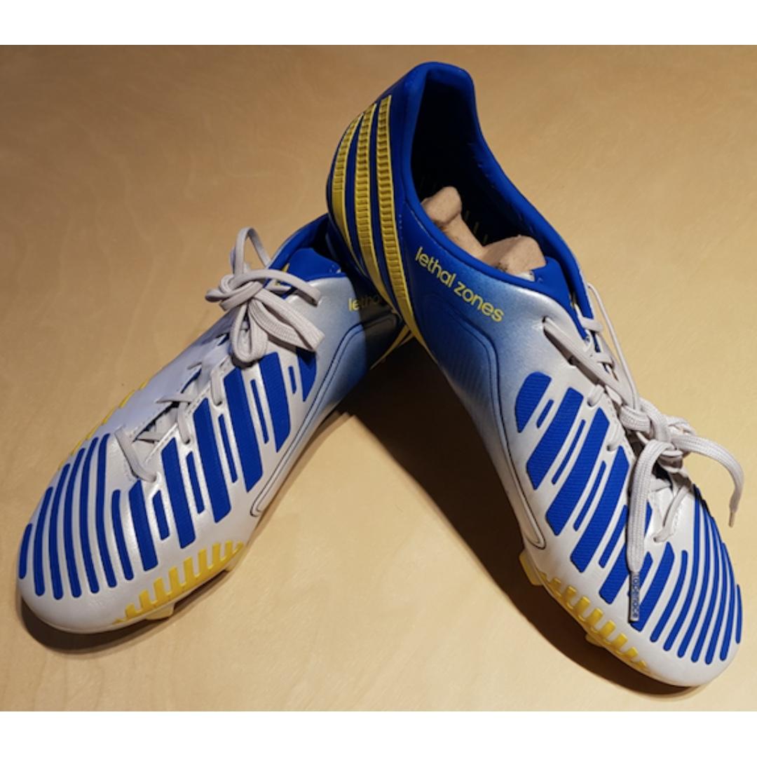 adidas predator zona letale trx solido terreno di scarpe da calcio (match